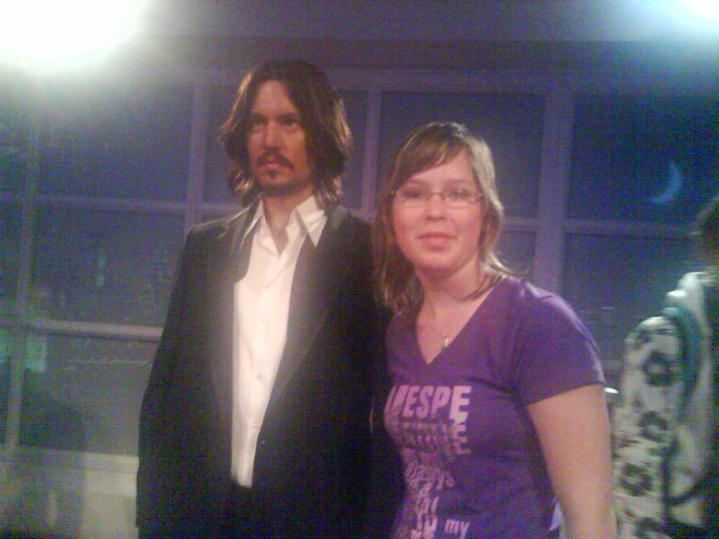 Já a Johnny Depp
