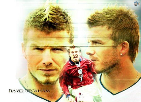 David Beckham  -nejlepší přímáky