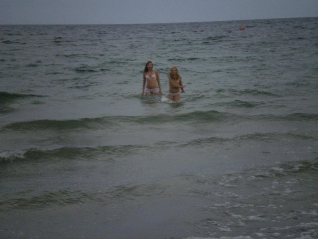 I když bylo tak hnusně nešlo odolat černému moři !1350!