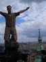 Nejvyšší věž Svatého Víta...