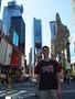 Na Time square v New Yorku