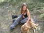 leto 2004 , s bobeskem na chate