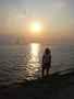 při západu slunce:-)