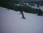 Chi,chi moje první jízda na snowboardu...