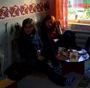 Já a Hanička v čajovně :)