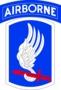 odznak 173. airborne brigade