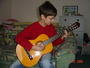 syn Henrich a prva gitara