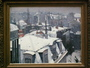 Rooftops undre snow - Gustave Caillebotte...
