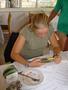 chorvatsko...psaní testu na potápění...