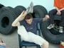 Gymnastika to je dřina....Hlavně...