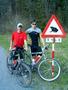 Tak tohle jsem na kole s kámošem.Jo,...