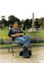Leháro v Lucemburských zahradách...