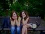 já (a la derecha) s moní v parku..původně...